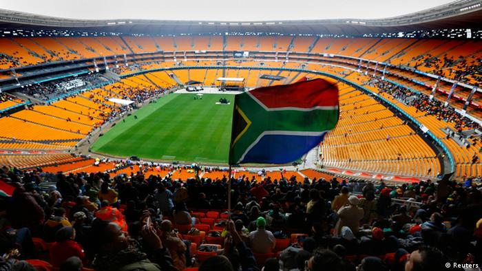 FNB stadium during the memorial