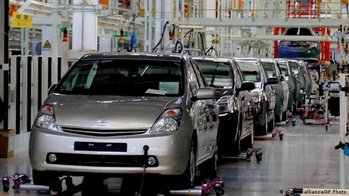 Toyota Fabrik in Changchun China (picture alliance/AP Photo)