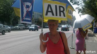 Budapest Bus Protest