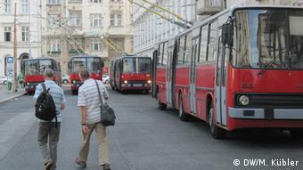 Budapest Trolleybusse