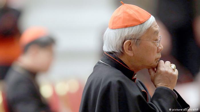 Hongkonger Bischof Joseph Zen Ze-kiun (picture-alliance/AP)