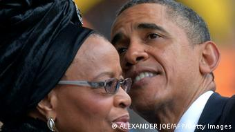 Barack Obama Graca Machel