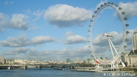 London eye Riesenrad in London