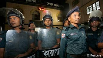 Bangladesch Dhaka Polizei
