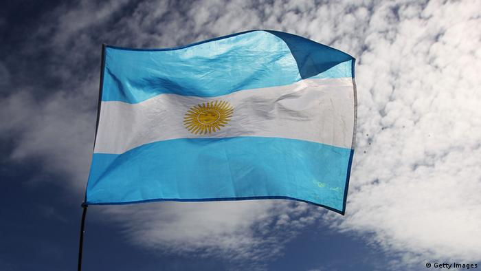 Argentinien Flagge (Getty Images)