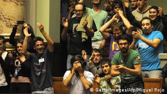 Abstimmung im Senat von Uruguay (Foto: MIGUEL ROJO/AFP/Getty Images)