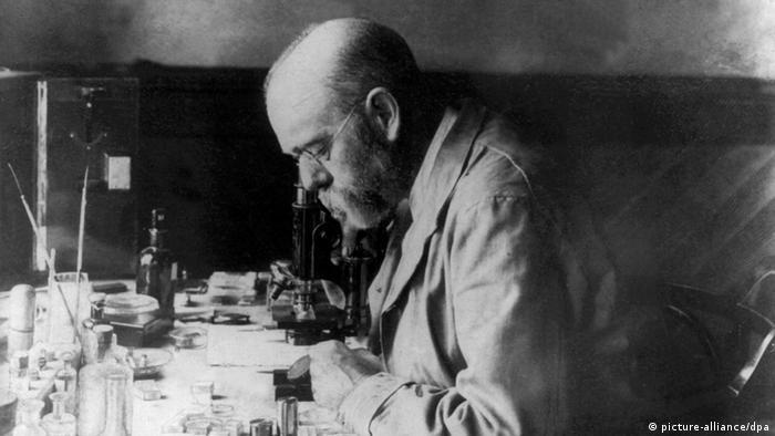Роберт Кох во время экспедиции в Южную Африку в 1896 году