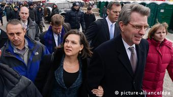 Victoria Nuland and Geoff Pyatt in Ukraine