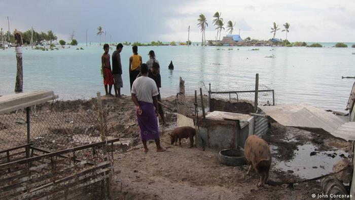 Kiribati Wasserpegel
