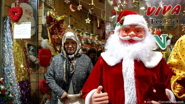 Рождественская символика в Стамбуле