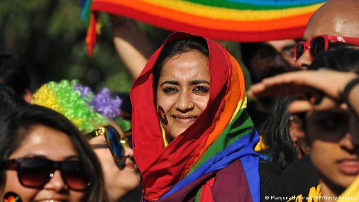 Bangalore Queer Pride Parade Indien 2012 (Manjunath Kiran/AFP/Getty Images)
