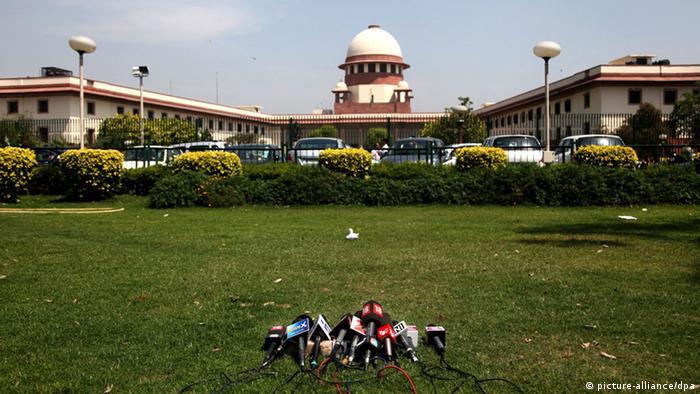 Oberstes Gericht Delhi Indien (picture-alliance/dpa)