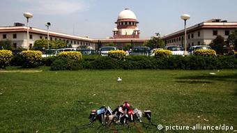 Oberstes Gericht Delhi Indien