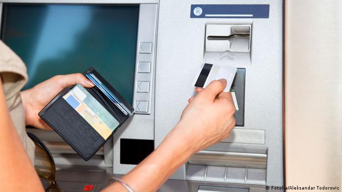 Автомат по выдаче денег