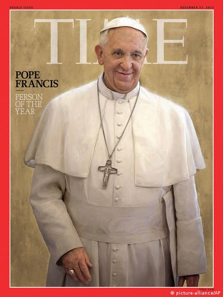 Papst Franziskus Time Magazine Person of the Year 2013