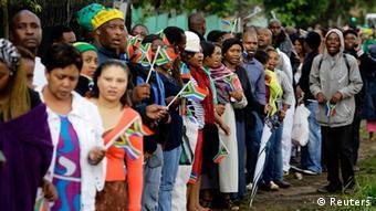 Nelson Mandela Abschied 12.12.2013
