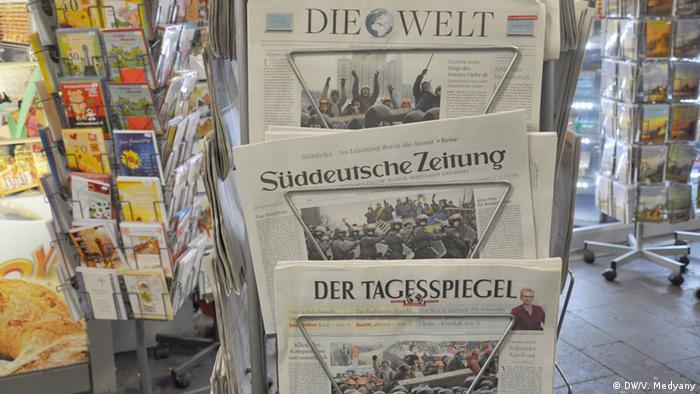 Німецька преса по Україну