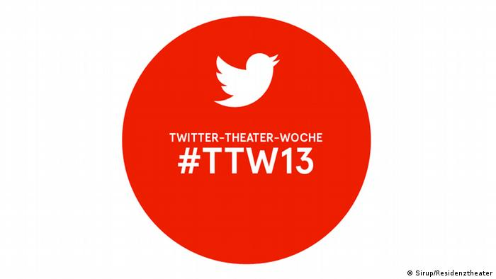 Logo der Twitter-Theaterwoche (Foto: Sirup/Residenztheater)