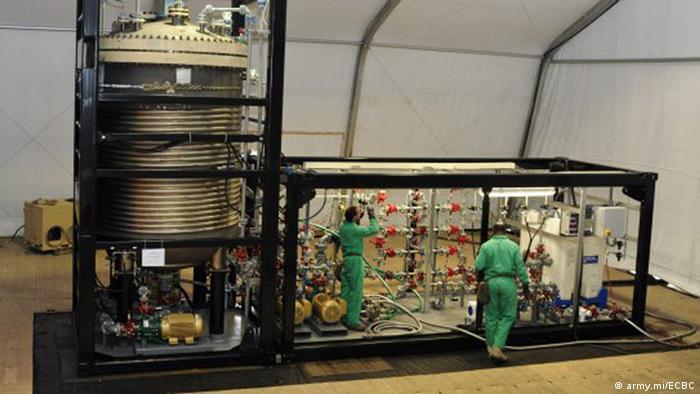 Postrojenje za uništavanje bojnih otrova