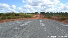 Bauarbeiten Straße Palma - Mocimboa - Mueda