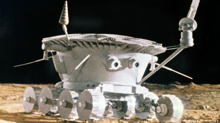 The moon mission of the USSR.  Foto:dpa