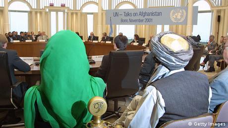Afghanistan Konferenz in Bonn 2001 Petersberg
