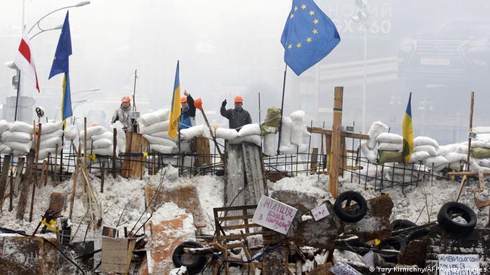 Ukraine Proteste der Opposition für Annäherung an die EU 12.12.2013