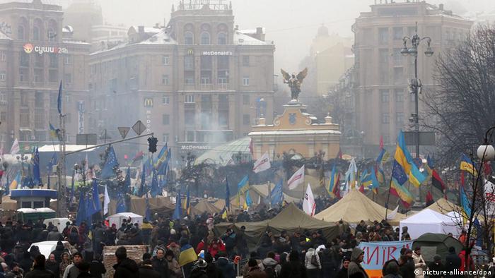 Ukrajinci su krajem 2013. izašli na ulice