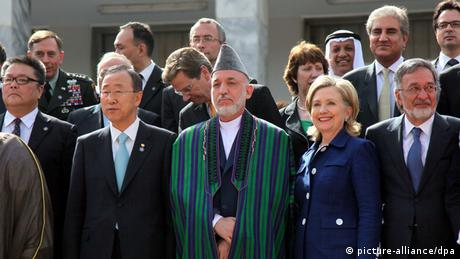 Internationale Afghanistan Konferenz 20.07.2010