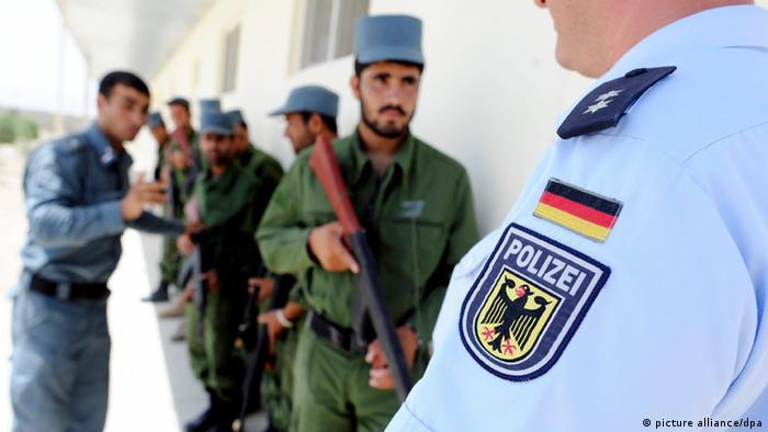 Afghanische Polizeikräfte Ausbildung durch deutsche Polizei