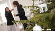 Symbolbild Stress an Weihnachten
