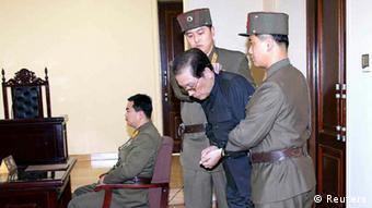 Nordkorea Chang Sung-taek Hinrichtung Prozess