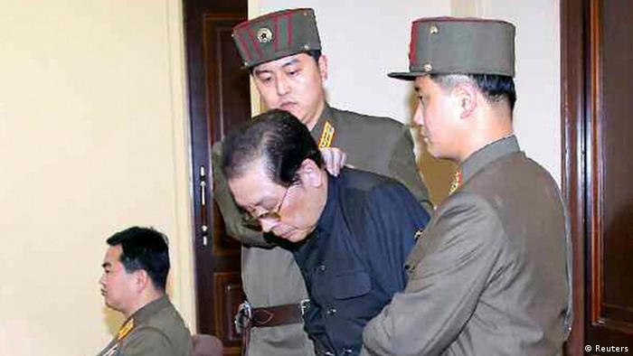 Nordkorea Chang Sung-taek Hinrichtung Prozess (Reuters)