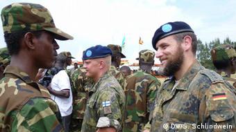 Formation de soldats somaliens en Ouganda
