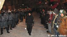 Ukraine Kiew Maidan Opposition Polizei