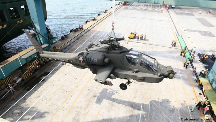 Taiwan erhält erste AH-64E Kampfhelikopter