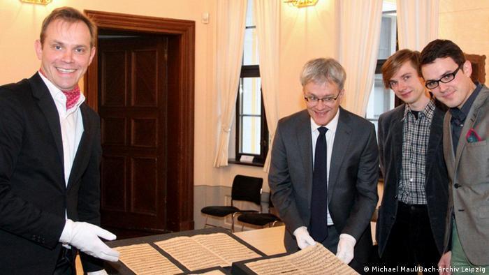 Archivo de Bach en Leipzig en donde ahora reposa el documento descubierto por Maul.