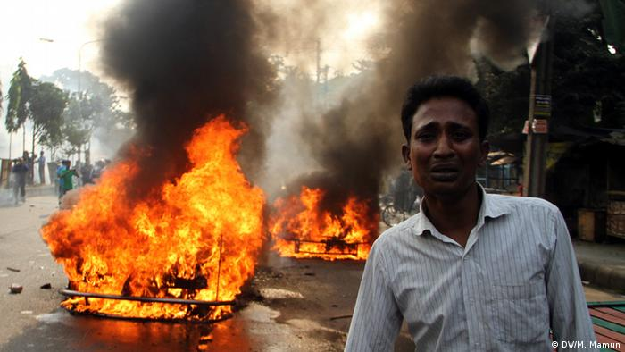 Bangladesh Abdul Quader Mollah riots after execution in Dhaka 13.12.2013