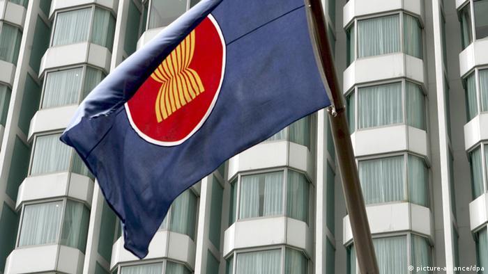 ASEAN Fahne Logo (picture-alliance/dpa)