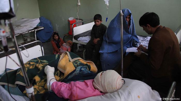 Häusliche Gewalt Afghanistan (DW/H.Hashimi)