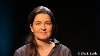Anne Roth von der Nichtregierungsorganisation Tactical Tech (Foto: DW Akademie/Steffen Leidel).