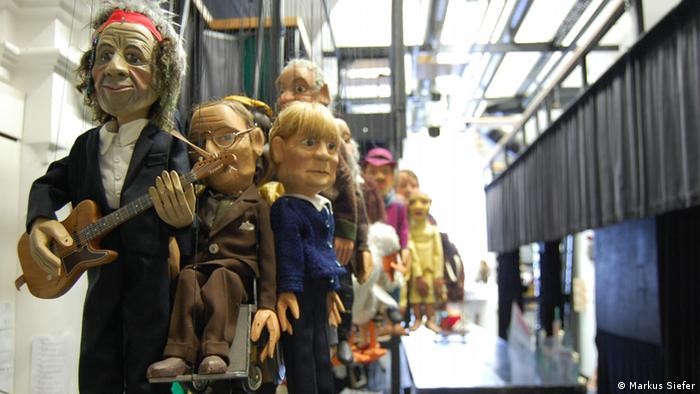marionettes handg in the museum (Markus Siefer)