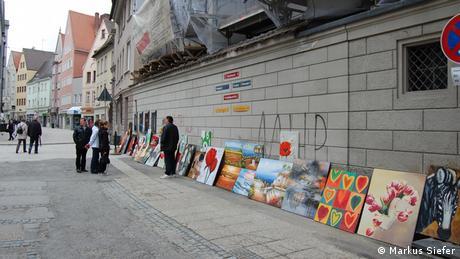 Bildergalerie Augsburg Straßenkunst
