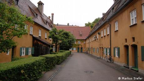 Bildergalerie Augsburg Fuggerei