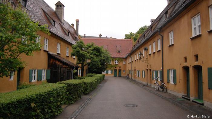 Fuggerei em Augsburg