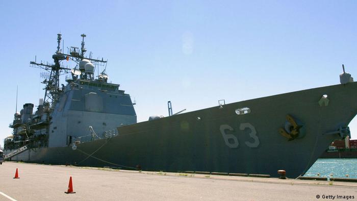 USS Cowpens Kampfschiff Marine USA