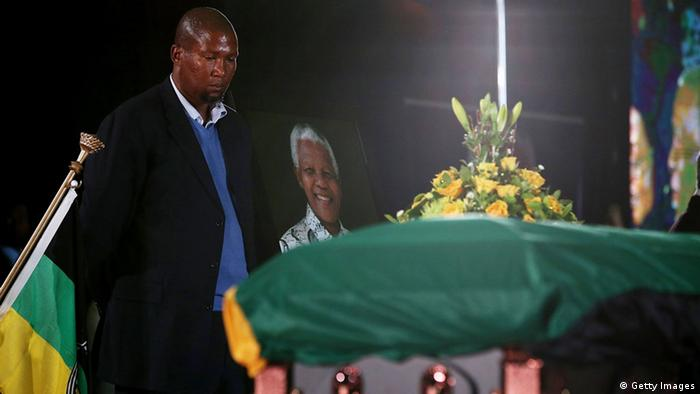 South Africas Ruling Anc Bids Farewell To Nelson Mandela