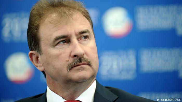 Александр Попов, представляющий Оппозиционную платформу - За жизнь, - соперник Виталия Кличко во втором туре выборов мэра Киева