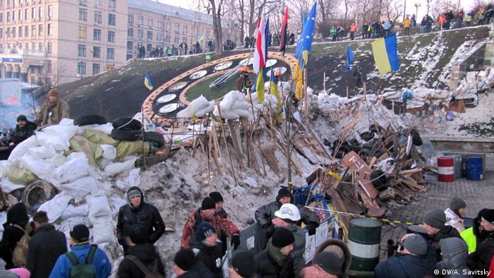 Ukraine Kiew Demonstrationen
