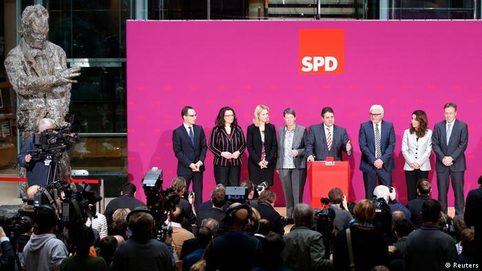 وزرای حزب سوسیال دمکرات آلمان